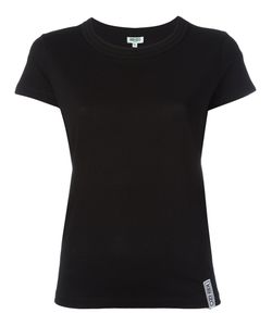 Kenzo | Ribbed Round Neck T-Shirt Small Cotton/Modal