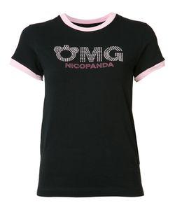 NICOPANDA | Logo Ringer T-Shirt Size Small