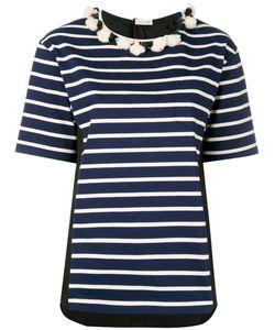 Moncler | Striped Short Sleeve T-Shirt