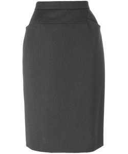 Chanel Vintage | Fitted Pencil Skirt Women