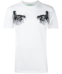 OFF-WHITE   Embroidered T-Shirt M