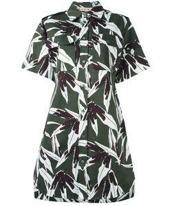 Marni | Swash Print Shirt Dress 40