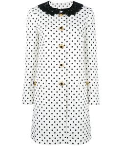 Dolce & Gabbana | Polka Dot Brocade Coat 42