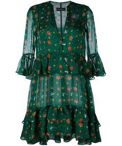 ROSSELLA JARDINI | Платье С Рисунком И Оборками