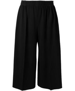 Issey Miyake Cauliflower | Ribbed Culottes Polyester