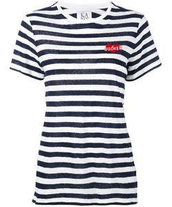 Zoe Karssen | Sucker Embroidered T-Shirt