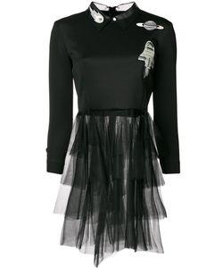 Frankie Morello | Платье Из Тюля С Узором