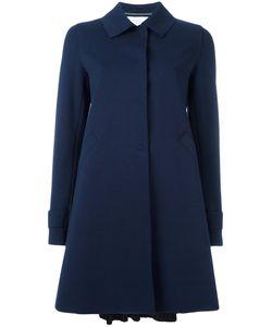 Harris Wharf London | Pleated Back Coat 44 Cotton/Polyamide/Spandex/Elastane