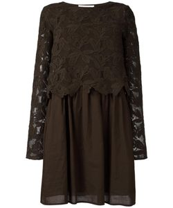 See By Chloe | See By Chloé Embroide Top Dress 40 Cotton
