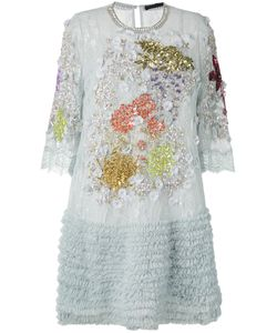 Amen | Декорированное Платье С Рюшами