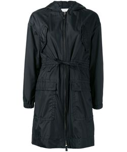 Agnona | Hooded Raincoat 44 Silk