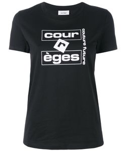 Courreges | Courrèges Logo Print T-Shirt Size 1
