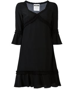 Moschino | Fla Silk Dress 42 Silk