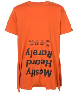 Mostly Heard Rarely Seen | Upside Down Logo T-Shirt Men