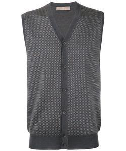 Cruciani   Geometric Pattern Vest 50