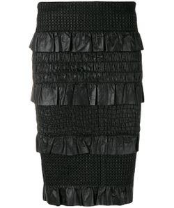 Drome   Ruffle Panel Pencil Skirt