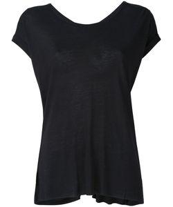 THOM KROM | Rond Neck T-Shirt Small Linen/Flax/Viscose