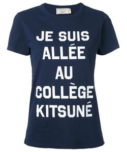 Maison Kitsune | Футболка С Принтом