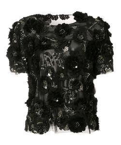 Marchesa | Sequinned Blouse 6 Silk