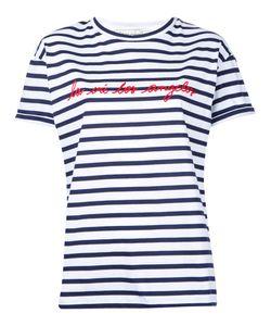ÊTRE CÉCILE   Striped T-Shirt Xs