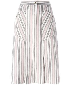 Isabel Marant | Striped Skirt 40 Cotton