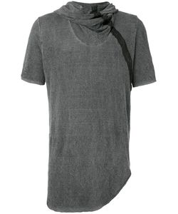 Lost & Found Ria Dunn | Draped Neck Hooded T-Shirt