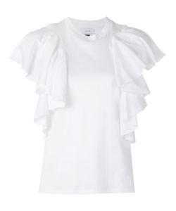 FACETASM   Ruffle Sleeve T-Shirt Xs