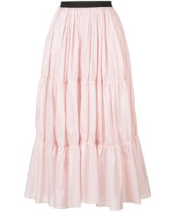 TOME | Long Tiered Skirt Xs