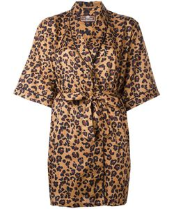 OTIS BATTERBEE | Leopard Print Kimono Xs Cotton