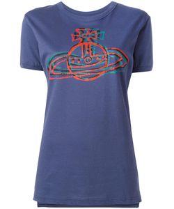 Vivienne Westwood Anglomania | Logo Print T-Shirt Large Cotton
