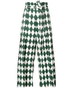TOME | Diamond Print Trousers Xs