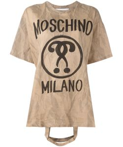 Moschino | Bag Handle T-Shirt Xxs Cotton