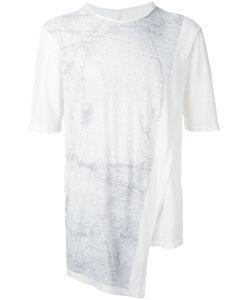 Forme D'Expression   Asymmetric Hem T-Shirt Size Large