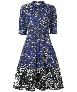 Oscar de la Renta | Printed Shirt Dress