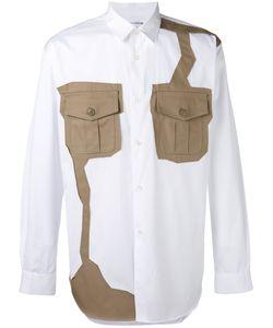 Comme Des Garcons | Comme Des Garçons Shirt Contrast Patch Shirt Size Large
