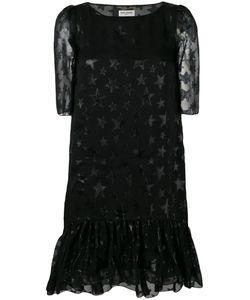 Saint Laurent | Платье Миди С Принтом Звезд