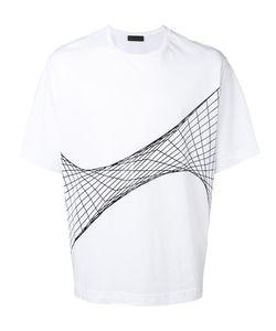 Diesel Black Gold | Net Print T-Shirt Large
