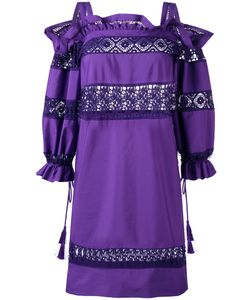 Alberta Ferretti | Embroidered Dress