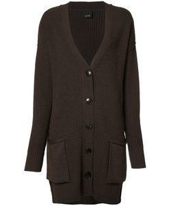 Josh Goot | Ribbed Detail Cardigan Small Wool
