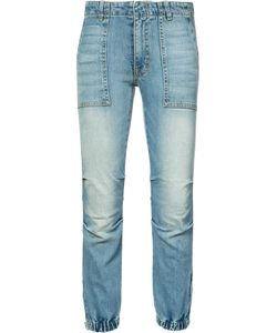 Nili Lotan | Gathered Ankle Jeans