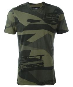 Hydrogen   Camouflage Print T-Shirt Small Cotton