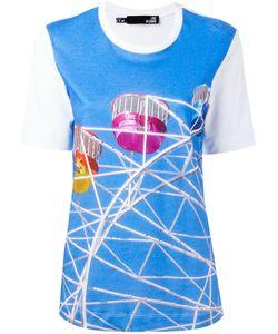 Love Moschino   Fairground Print T-Shirt 44