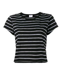 Re/Done | Stripe Boxy T-Shirt Xs