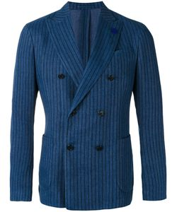 Lardini | Striped Blazer Size 46