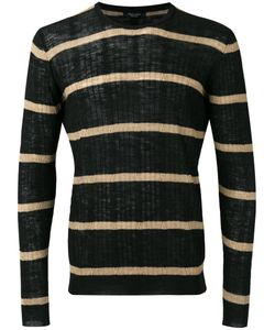 Roberto Collina   Striped Ribbed Sweater Size 50