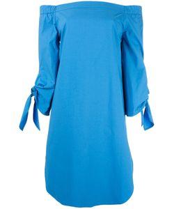 Erika Cavallini | Off-Shoulders Shift Dress 46 Cotton/Spandex/Elastane