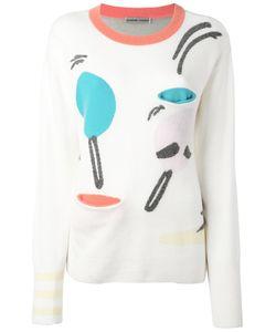 Tsumori Chisato | Print Sweater Medium Cashmere/Wool