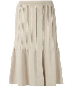 EGREY | Pleated A Line Skirt P Viscose/Acrylic/Polyamide/Spandex/Elastane