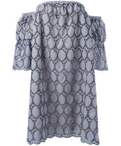 Erika Cavallini | Платье С Открытыми Плечами И Люверсами