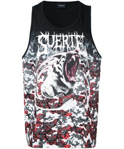 MARCELO BURLON COUNTY OF MILAN | Shark Print Tank Medium
